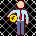 Euro Business Money Icon