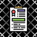 Administrative Report Color Icon