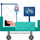 Admitted Patient Patient Medicine Icon