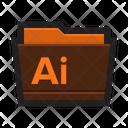 Folder Adobe Illustrator Icon