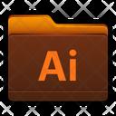 Adobe Illustrator Folder Icon
