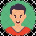 Adolescent Boy Child Icon