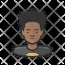 Adolescent Black Male Aging Adolescent Icon