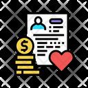 Adoption Cost Icon