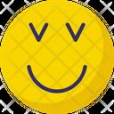 Adoring Confused Emoticons Icon