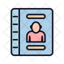 Adress Book Education Icon