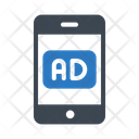 Ads Mobile Marketing Icon