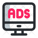 Ads Internet Ads Internet Advertising Icon