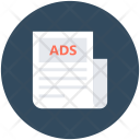 Ads Paper Classifieds Icon