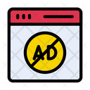 Ads Banned Icon