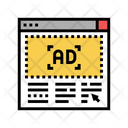 Ad Banner Website Icon