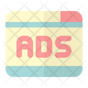 Ads Banner Advertisement Board Advertising Hoarding Icon