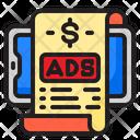 Ads Bill Icon