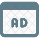 Ads Browser Online Advertising Advertising Icon