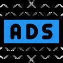 Ads Center Margin Online Advertising Advertising Icon