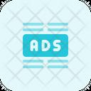 Ads Center Margin Icon