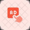 Ads Click Icon
