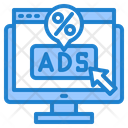 Ads Discount Icon