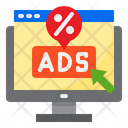 Ads Discount Ads Offer Discount Icon