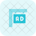 Ads Display Two Icon
