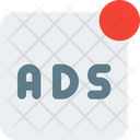 Ads Live Online Advertising Advertising Icon