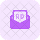 Ads Message Icon