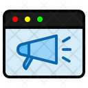 Ads Page Ads Megaphone Icon