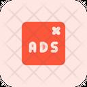Ads Remove Icon