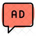 Ads Response Chat Message Icon