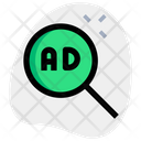 Ads Search Search Advertising Advertising Icon