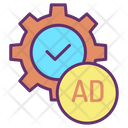 Ads Setting Icon