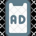 Ads Smartphone Advertising Marketing Icon