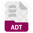 Adt File Format Icon