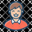 Adult Cute Boy Avatar Icon