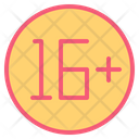 Adult Rate Teenager Icon