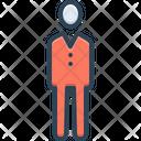 Adult Human Gentleman Icon