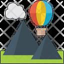 Flight Adventure Air Balloon Icon
