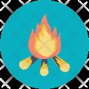 Adventure Campfire Fire Icon