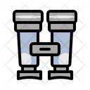 Adventure Binoculars Landscape Icon