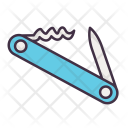 Adventure Camping Knife Icon