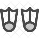 Adventure Diving Flippers Icon