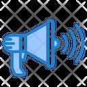 Advertise Megaphone Shopping Icon
