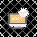 Advertise Online Marketing Icon