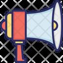 Advertisement Bullhorn Loudhailer Icon