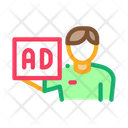 Courier Ad Position Icon