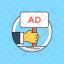 Ad Advertisement Advertising Icon