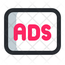 Advertisement Ads Advertise Icon