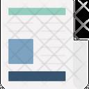 Advertisement Document Employment Icon