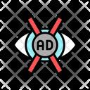 Advertisement No Vision Icon
