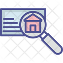Advertisement House Selection Real Estate Search Icon